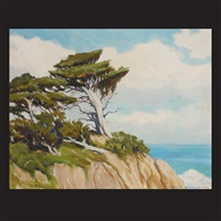 monterey cypress by joseph hastings bennett
