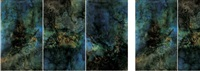 la mère de nuage (triptych) by lalan