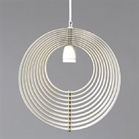 moon lamp/visor by verner panton