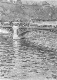 seinebrücke by ernst pickardt