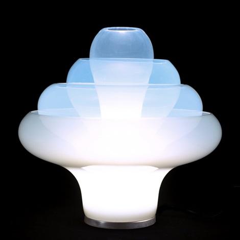 Lotus table lamp by carlo nason on artnet lotus table lamp by carlo nason aloadofball Gallery