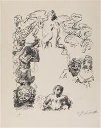 aus: das gastmahl des trimalchio 1919 by lovis corinth