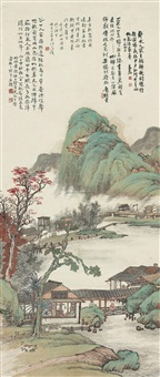 耕织图 (landscape) by xu hanguang