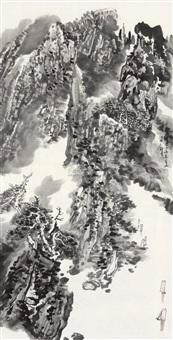 landscape by liu liwu