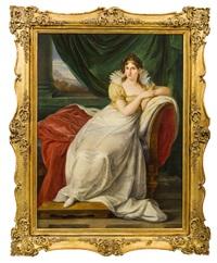 bildnis einer edlen dame by josef abel
