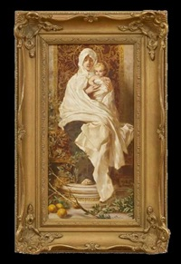 madonna of the lemons by nicolo barabino
