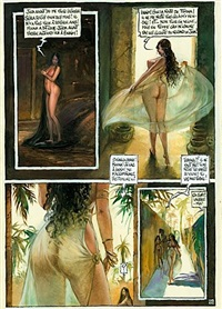 les voiles, planche 52 (from thamara & juda) by peter riverstone