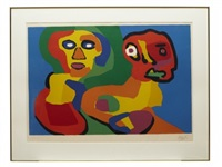 komposition by karel appel