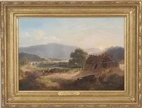 view near bedford by willlam thompson russell smith