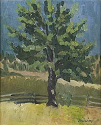 trädet ii klabböle by helge linden