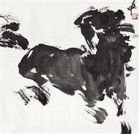 奔马 by jia haoyi