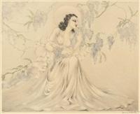 藤の花Wisteria, 1940