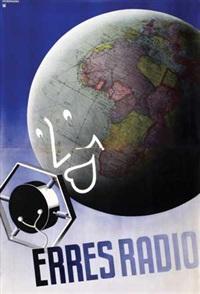 erres radio (on 2 joined sheets) by johan m. moerkerk