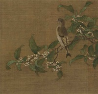 bird on the branch by anonymous-chinese (15)