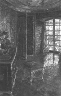interieur der münchener pagoden by franz multerer