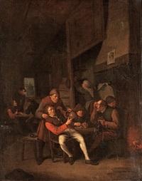 at the tavern by pieter harmensz verelst