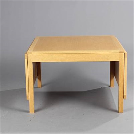 Coffee Table With Drop Leaves Model 5362 By Børge Mogensen