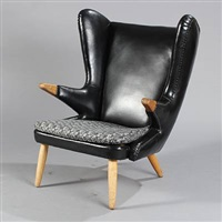 winged armchair (model 91) by svend skipper
