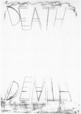 eat death by bruce nauman