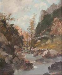 paesaggio fluviale by ezelino briante