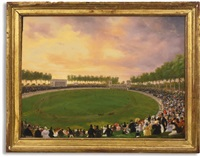 les courses au champ-de-mars by victor adam