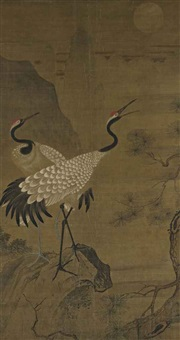 cranes in the moon shadow by anonymous-chinese (15)