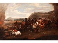 reiterschlacht by georg philipp rugendas the elder