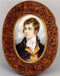 portrait of robert burns by nicholas alden brooks