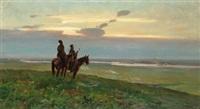 donkossacker till häst by ivan ivanovich krylov