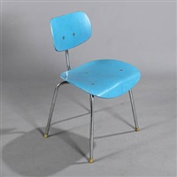 side chair (model se 68) by egon eiermann