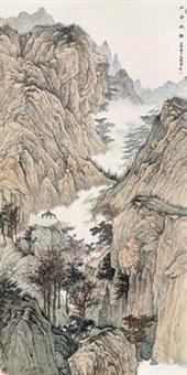 山亭秋静 by xu guangju