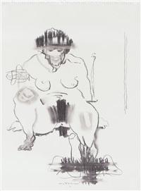 figura femminile by wainer vaccari
