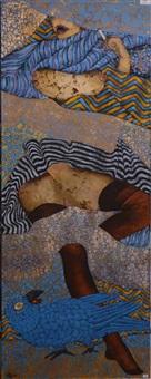 la femme au perroquet by georges collignon