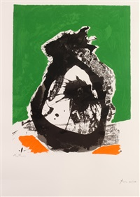 untitled (from basque suite) by robert motherwell