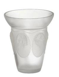 medaillons vase by rené lalique