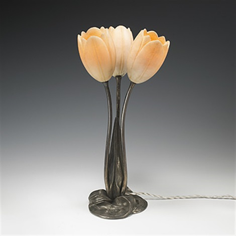 Tulip Table Lamp By Albert Cheuret