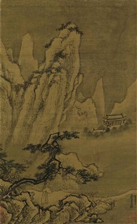 seeking inspiration in the shade of mountains by anonymous-chinese (14)