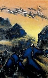 行空 (the shifting universe) by liu kuo sung