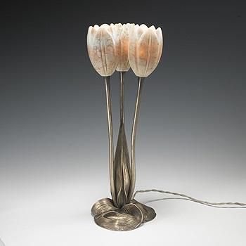 Tulip Table Lamp By Albert Cheuret