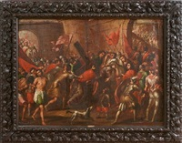 the road to calgary by frans francken iii