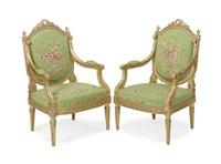 fauteuils (set of 4) by jean mocque