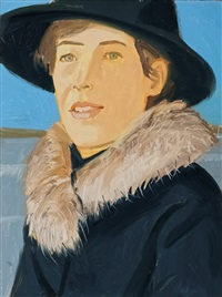 portrait by alex katz