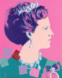 """Queen Margrethe II of Denmark"""" from the..., 1985"""