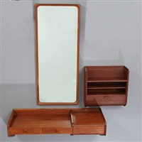 Beautiful Wall Mounted Dressing Table Mirror Mini Wall Mounted Dressing Vanity Table  With Mirror. Wall Mounted ...