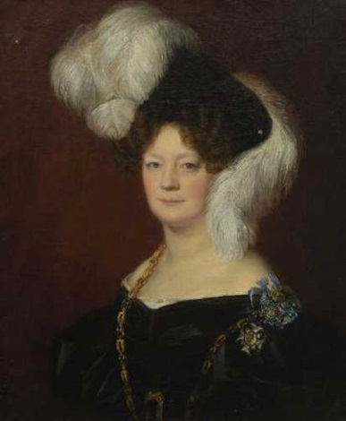 therese gräfin von armansperg by german school southern 19