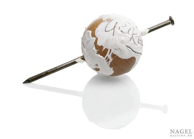 globe by günther uecker
