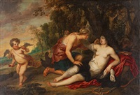 jupiter and callisto by sir anthony van dyck