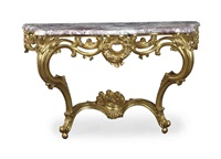 console tables (pair) by jean mocque