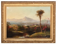 white mountain views (3 works) by william g. boardman