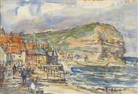 runswick bay by rowland henry hill